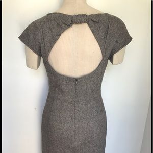 Brooklyn Industries Tweed Dress with Back Out